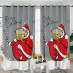 Christmas Mouse Curtains