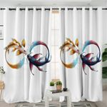 Infinity Loop Koi Curtains