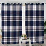 Plaid Style Curtains