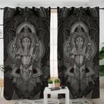 Hindu God Erawan Curtains