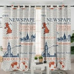 Newspapers Curtains