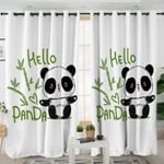 Hello Panda Cub Curtains