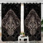 Bodhi Motif Buddha Curtains