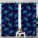 X-rayed Dragonflies Curtains