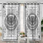Black Owl Curtains