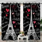 Paris Themed Curtains