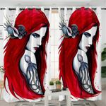 3D Realistic Mermaid Curtains