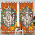 Ganesha Elephant Curtains