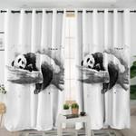 3D Panda Snooze Curtains