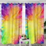 Abstract Colorblend Curtains