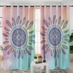 Feather Mandala Curtains
