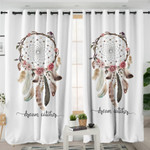 Dream Catcher White Curtains
