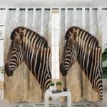 Wild Zebra Themed Curtains