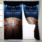 Basketball Game Curtains