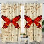 Machaon Butterfly Curtains
