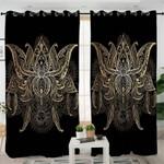 Bohemian Flower Moon Curtains