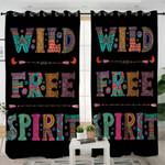 Wild Free Spirit Curtains