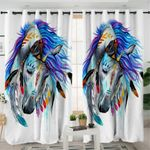 Warchief Pixie Horse Curtains