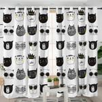 Funny Kid Animal Curtains
