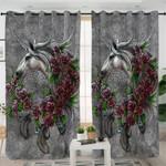 Unirose Grey Curtains