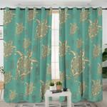 Mandala Turtle Curtains