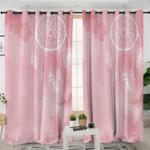 Light Pink Dream Catcher Curtains