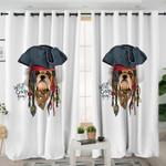 Pirate Bulldog Curtains