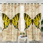Swallowtail Butterfly Curtains