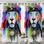 Mythical Lion Curtains