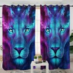 Cosmic Lion Curtains