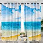 On The Beach Curtains