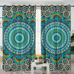 Bright Patterns Mandala Curtains