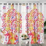 Mandala Elephant Curtains