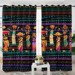 Egytian Style Basket Ladies Curtains