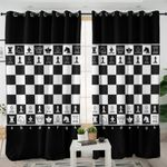 Chessboard Curtains