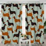 Dachshund Themed Curtains