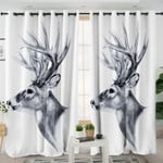 B&W Antelope Curtains