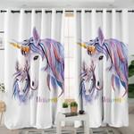 Unicorn Family Curtains