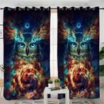 Holly Owl Curtains