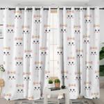 Cute Cat Themed Curtains