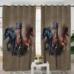 Horses Goes Wild Curtains