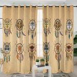 Tribal Animal Dream Catcher Themed Curtains