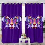 Tiger Morphed Butterfly Curtains
