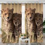 Baby Wild Cheetah Curtains