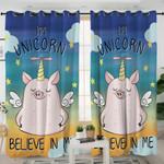 Cartoon Unipig Curtains