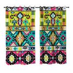 Hypnotized Patterns Curtains