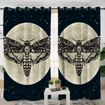 Moth & Moon Cosmic Curtains