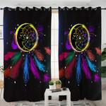 Colorful Dream Catcher Curtains