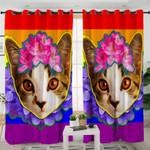 Cute Kitty Cat Curtains
