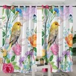 Flower And Bird Curtains